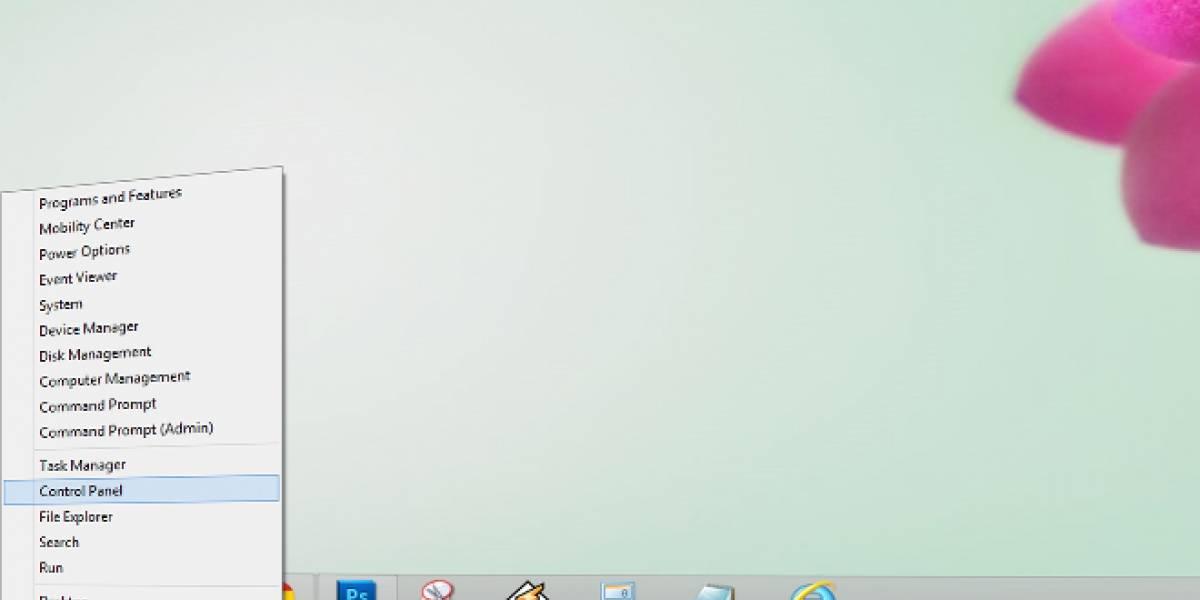 """El """"casi"""" menú inicio oculto en Windows 8"""