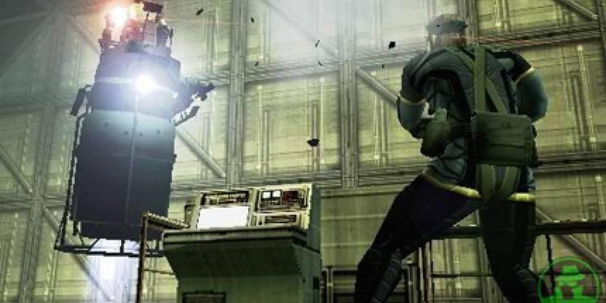 Ya está disponible demo de Metal Gear Solid portable ops
