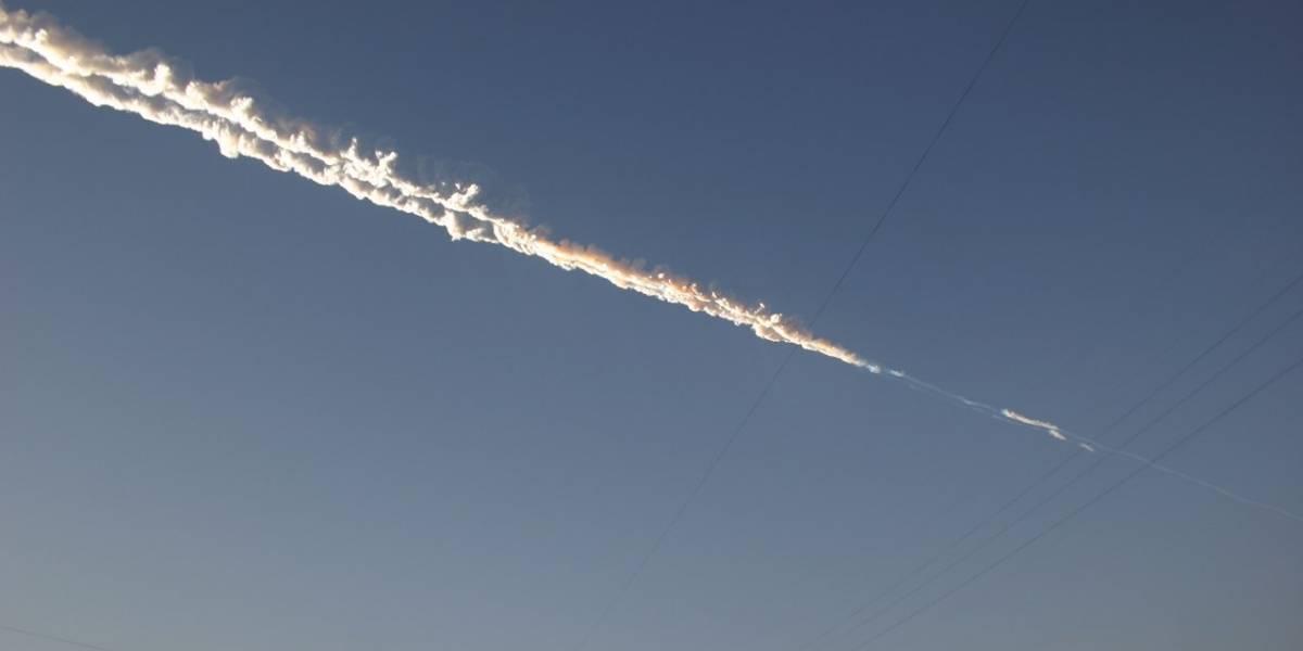 Un meteorito deja cientos de heridos en Rusia