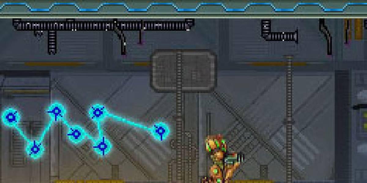 Metroid Prime 2D (lo encontré en mis bookmarks antiguos)