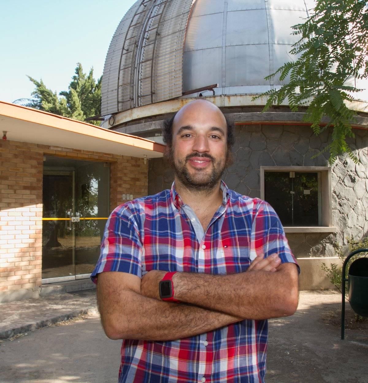 Profesor Patricio Rojo, astrónomo