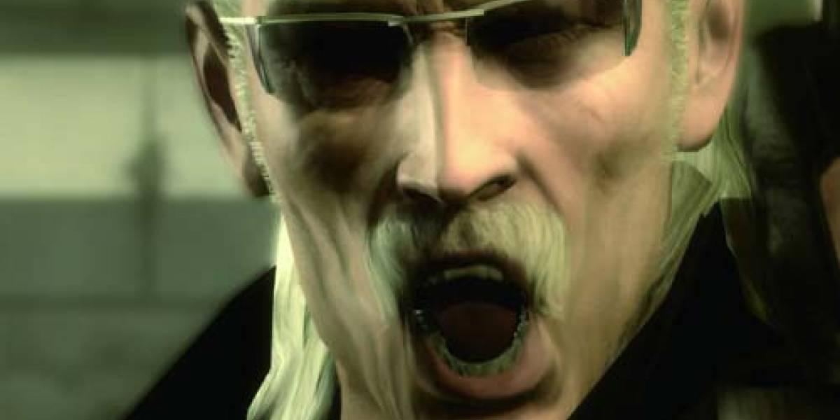 No más Metal Gear Solid 4