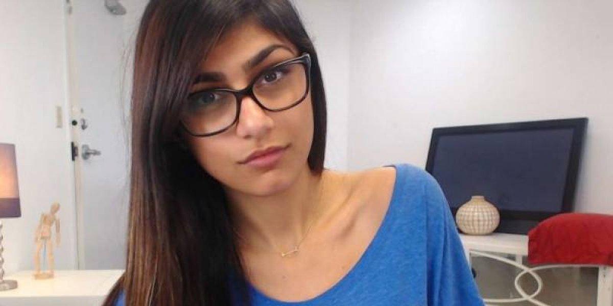 Mia Khalifa publica foto sin nada de maquillaje y con su busto al natural
