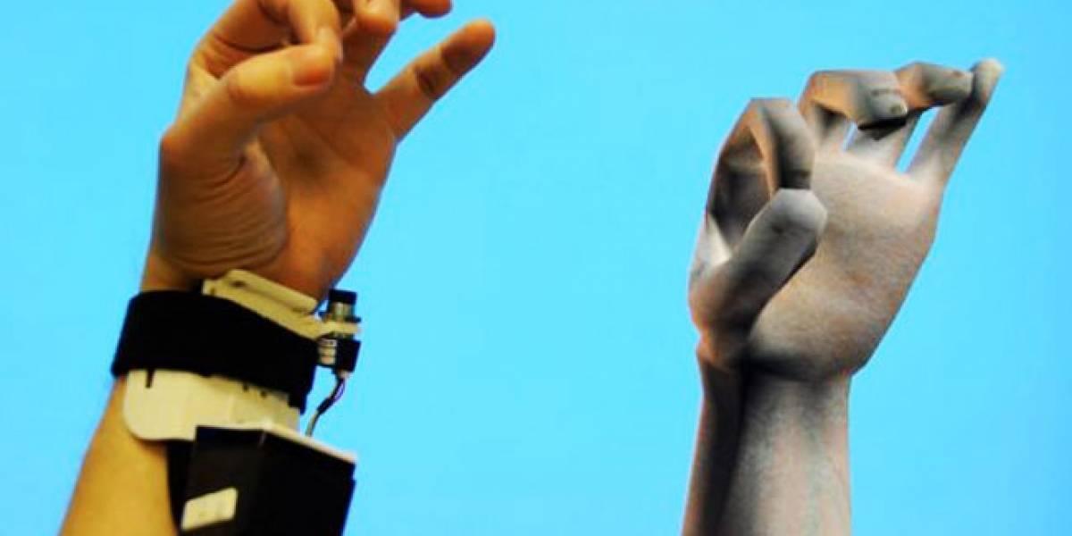 """Desarrollan un """"Kinect de pulsera"""" para registrar los movimientos de las manos"""