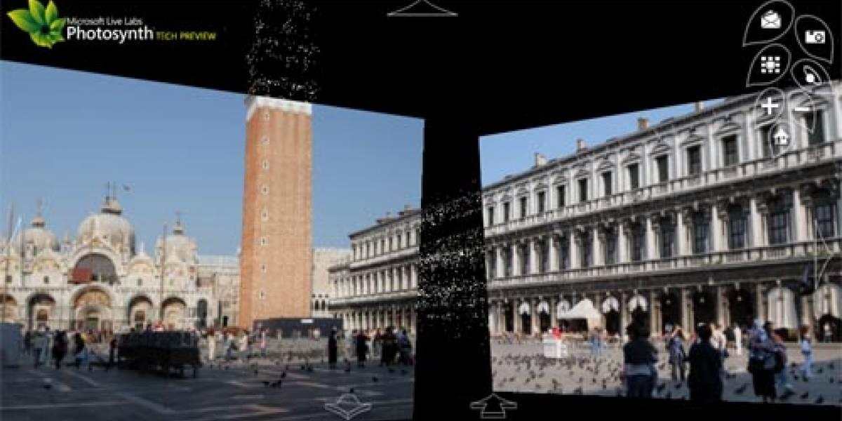 Microsoft Photosynth: Panoramas 3D a partir de fotos