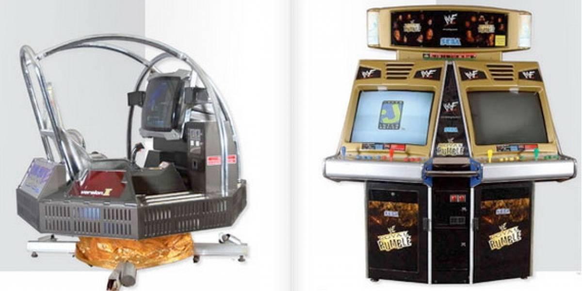 Michael Jackson remata su colección de máquinas de Arcade