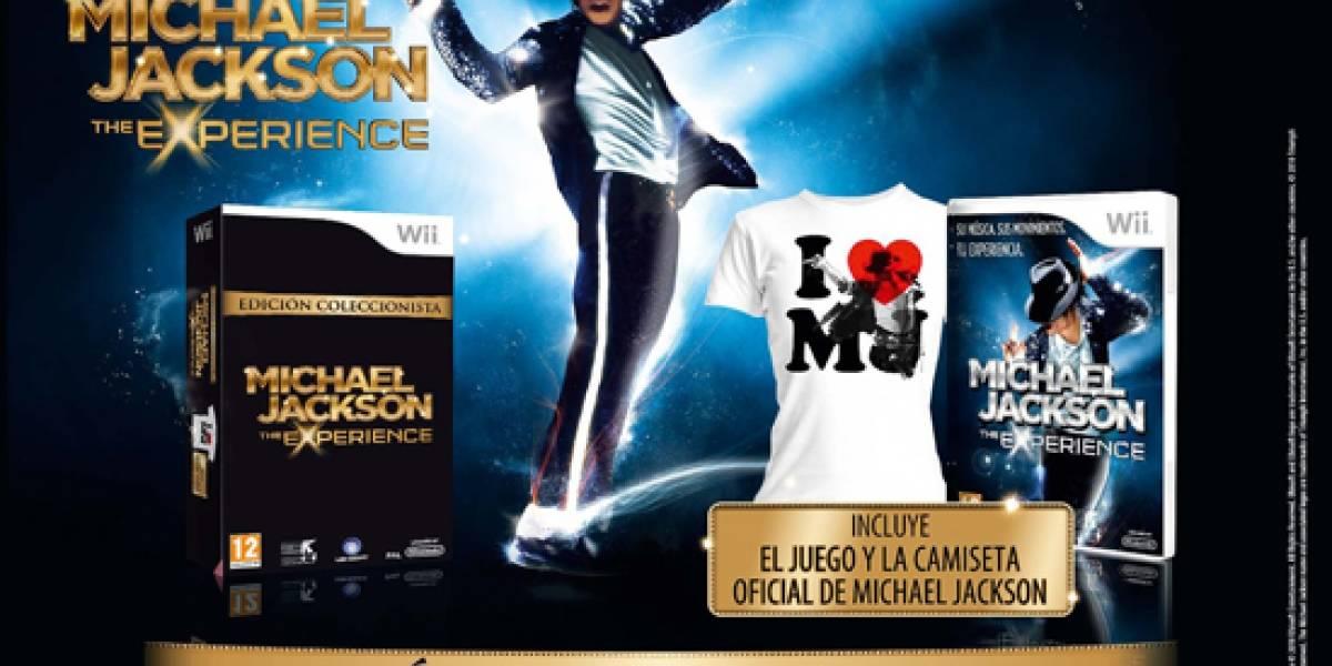 Edición Especial de Michael Jackson The Experience para Wii