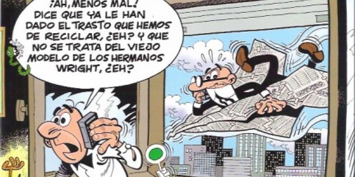 España: Mortadelo y Filemón llegan a los dispositivos móviles