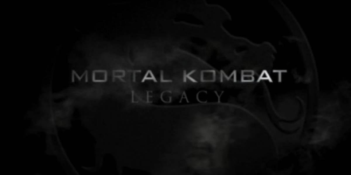 Jax y Kano bailan en el trailer de la serie Mortal Kombat