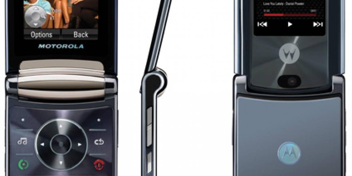Nuevo Motorola RAZR 2: Linux + HSDPA + 2GB