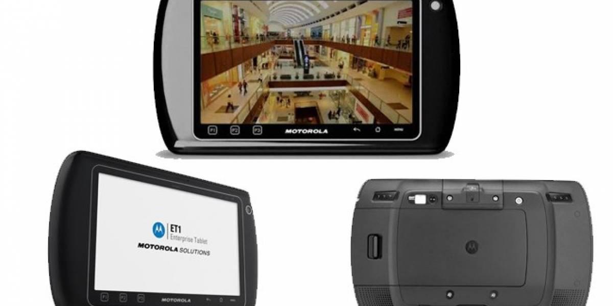 Motorola presenta la E71, una tablet diseñada para el mundo corporativo