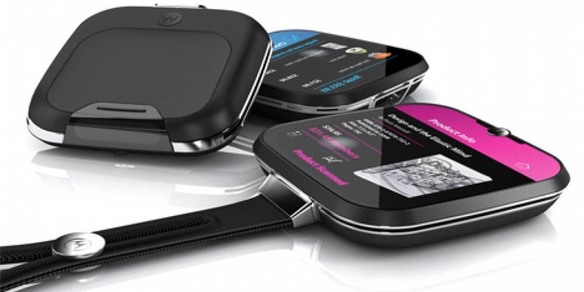 Concepto: Vete de compras con el Motorola Sparrow