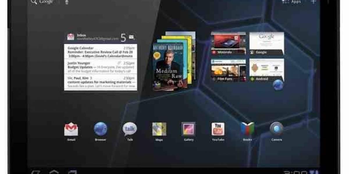 Android Honeycomb 3.2 para las Motorola Xoom ya disponible