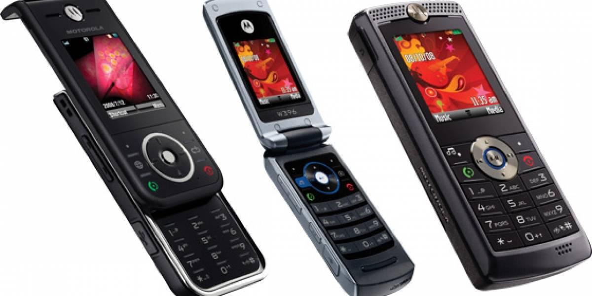 Nuevos Motorola ZN200, W396 y W388