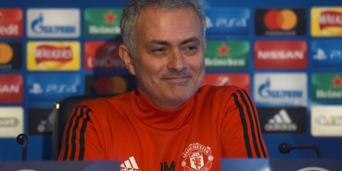 """Mourinho renuevacon el Manchester Unitedy envía un""""dardo"""" al Real Madrid"""