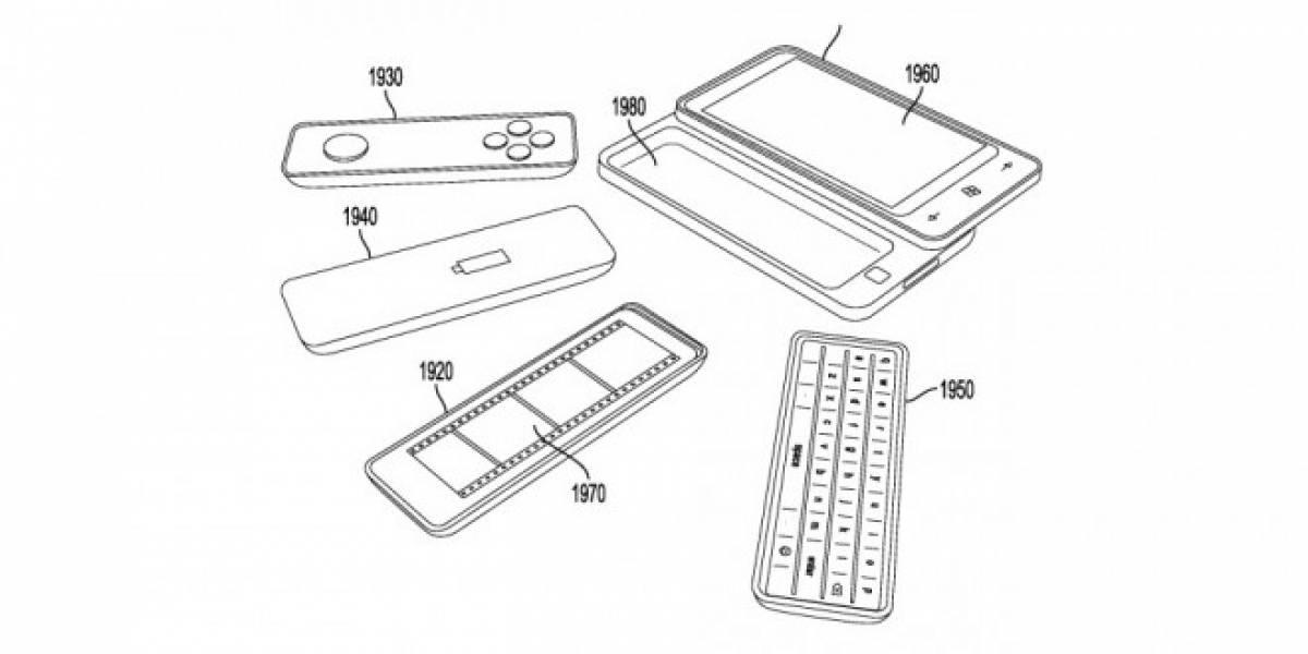 Nueva patente de Microsoft muestra un smartphone modular para el futuro