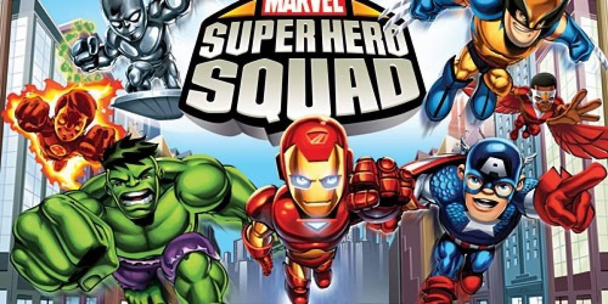 Marvel Superheroe Squad ya a la venta
