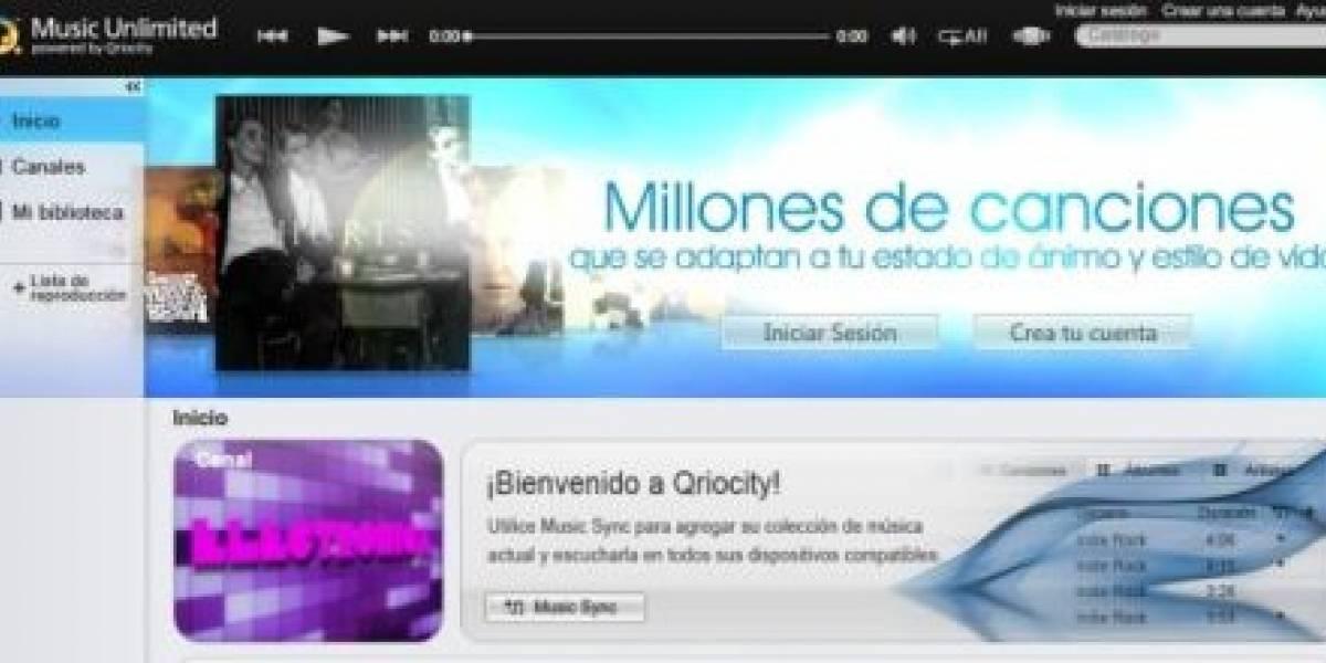 España: Llega Qriocity, la alternativa de Sony a Spotify