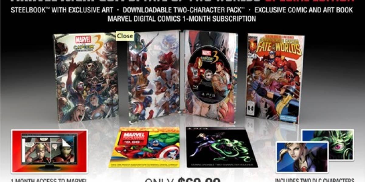 Edición especial de Marvel vs. Capcom 3