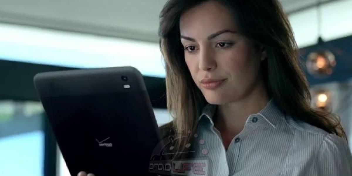 Misteriosa tableta aparece en nuevo comercial de Verizon