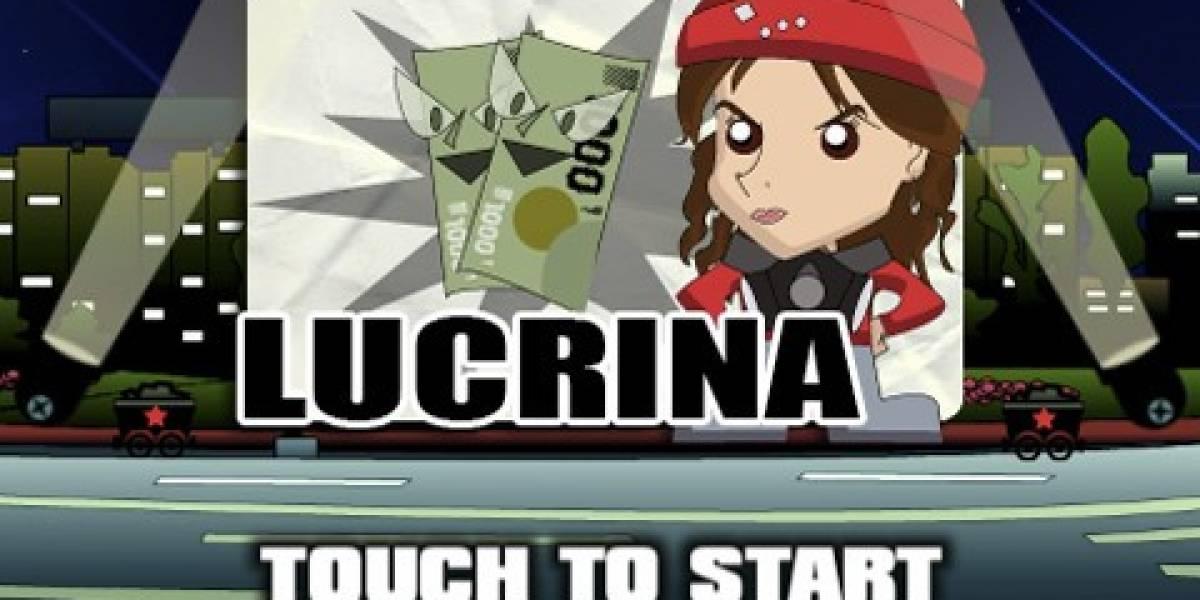 Lucrina: Un juego para que ayudes a Camila Vallejo a luchar contra el lucro