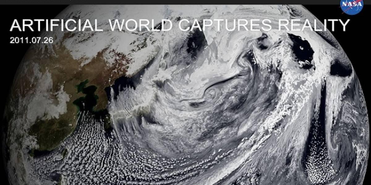 Nueva aplicación de la NASA permite explorar la Tierra con sus datos