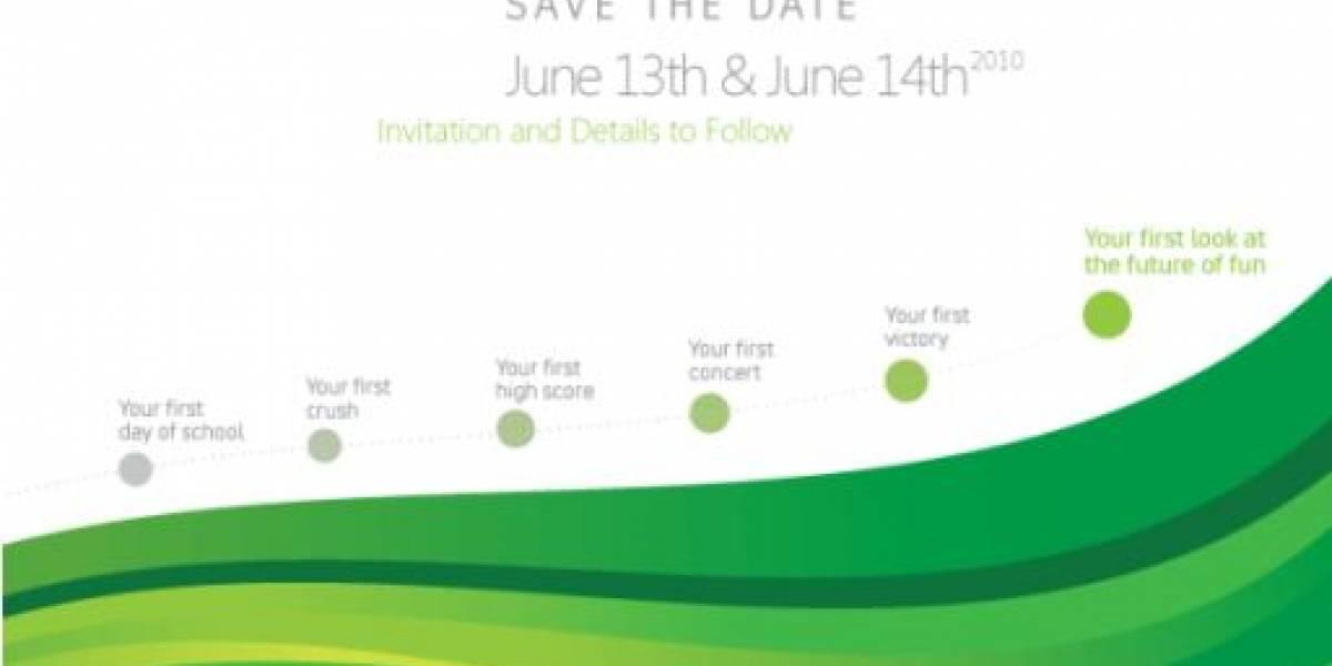 Project Natal será presentado el próximo 13 de Junio