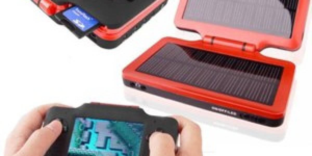 Emulador de NES/GBA/GBC + PMP + Cargador + Solar + Portable = WOW