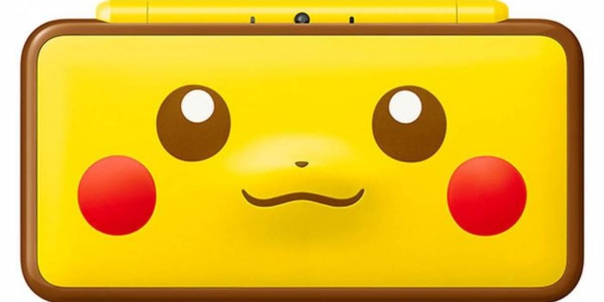 Confirman que el New 2DS XL Edición Pikachu si llegará a América