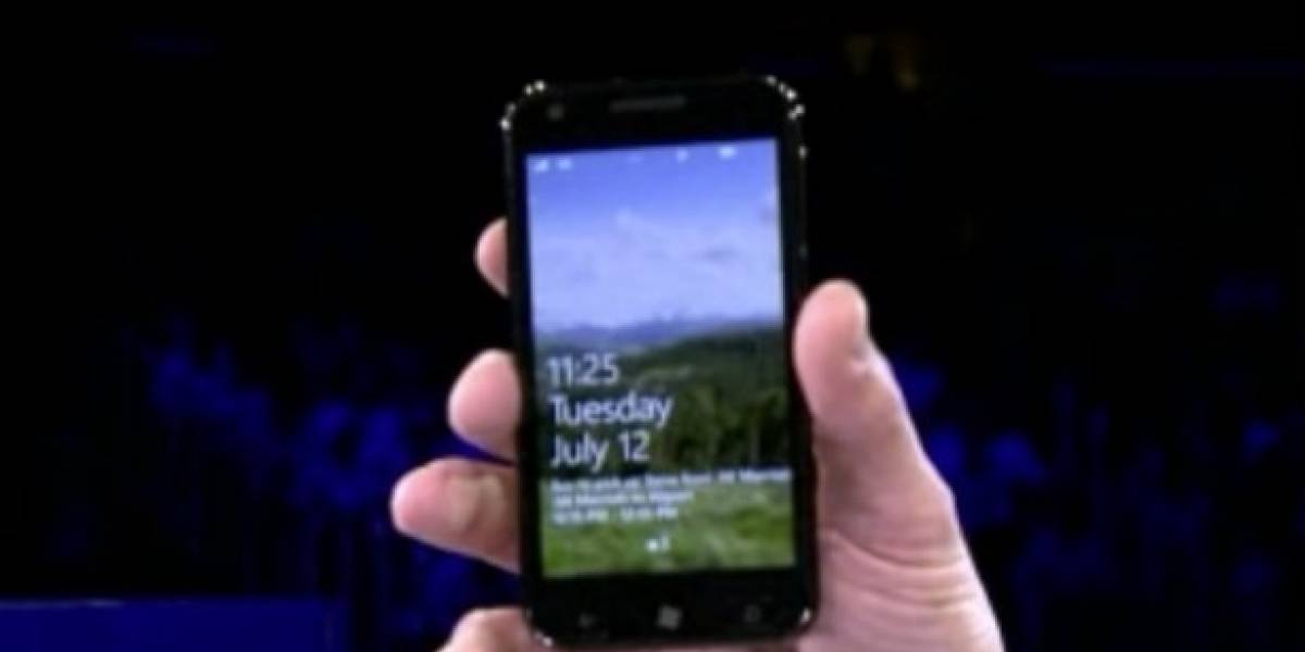 Microsoft muestra un Samsung Galaxy S II con Windows Phone 7.5 Mango