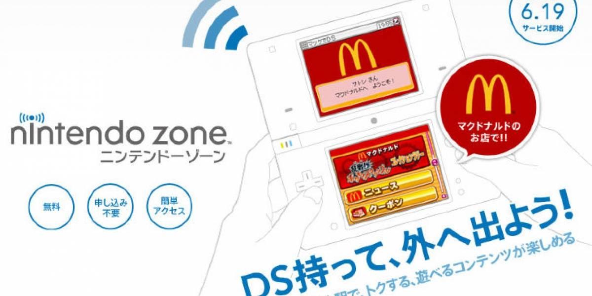 McDonalds usará la Nintendo DS para entrenar a sus empleados en Japón