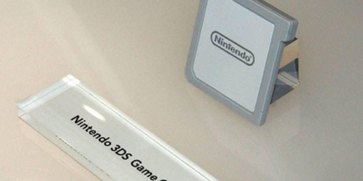 Futurología: Cartuchos de Nintendo 3DS tendrían 8GB de espacio