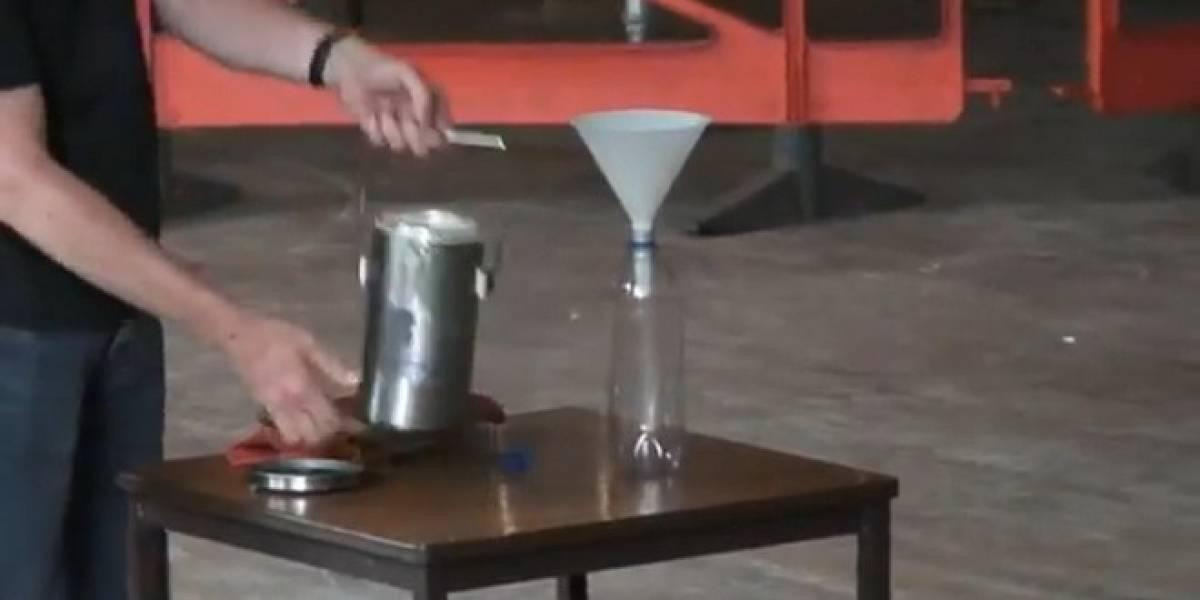 1,500 pelotas de ping pong y algo de nitrógeno líquido hacen la ciencia divertida