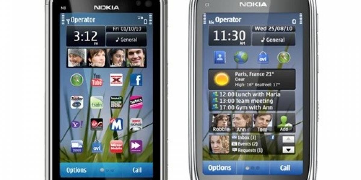 Europa: Nokia rebaja los precios de sus smartphones, entre ellos el N8, el C7 y el E6