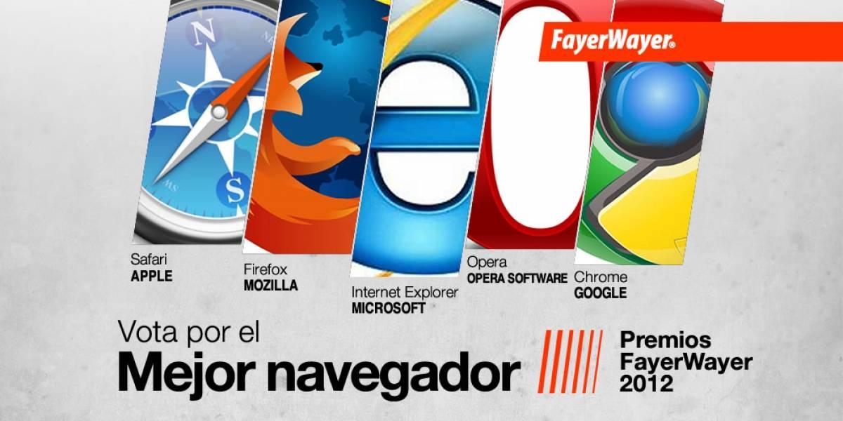 Pila de Oro: Vota por el Mejor Navegador del 2012