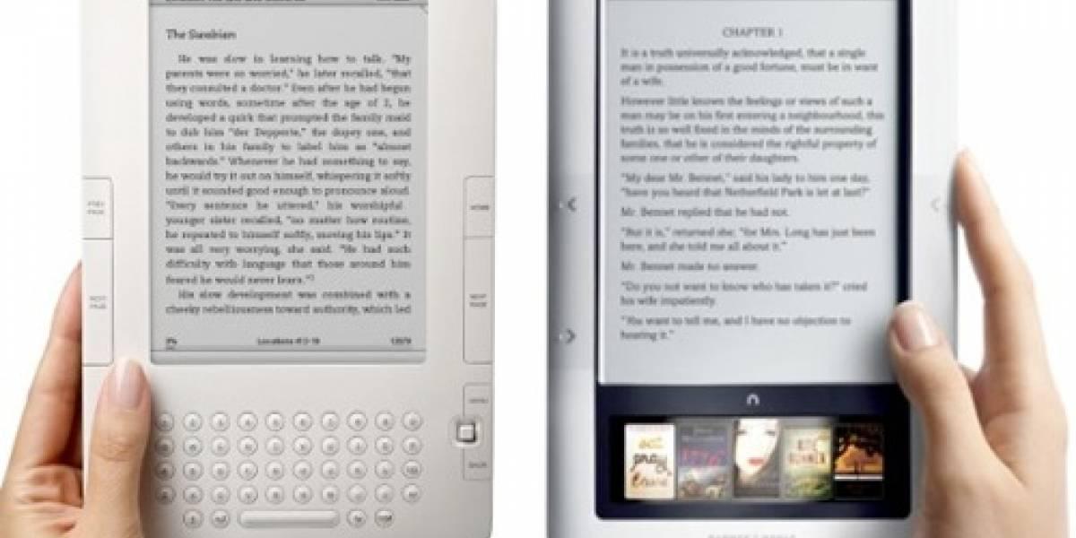 Nueva Nook queda arriba de la Kindle 3G en el ranking de Consumer Report
