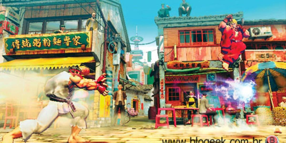 Exclusivo: Más Street Fighter IV, 1UP PWNED!