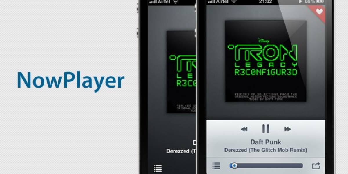 NowPlayer reproduce y comparte tu música