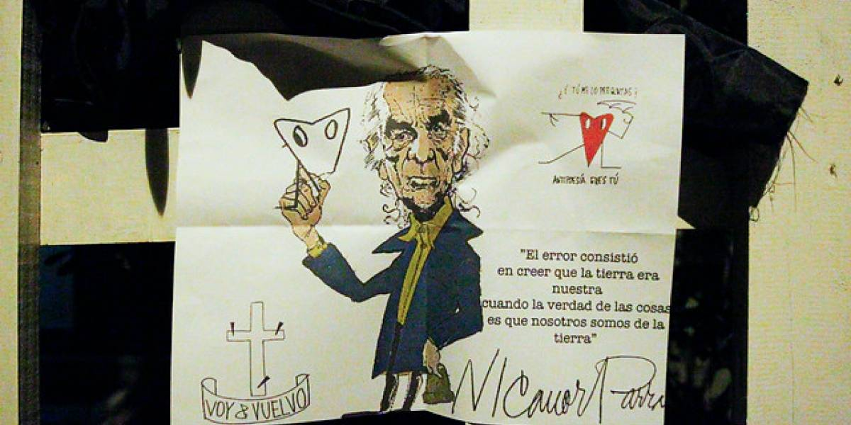 """El """"voy y vuelvo"""" de Nicanor Parra se sentirá hoy con emoción en su funeral"""