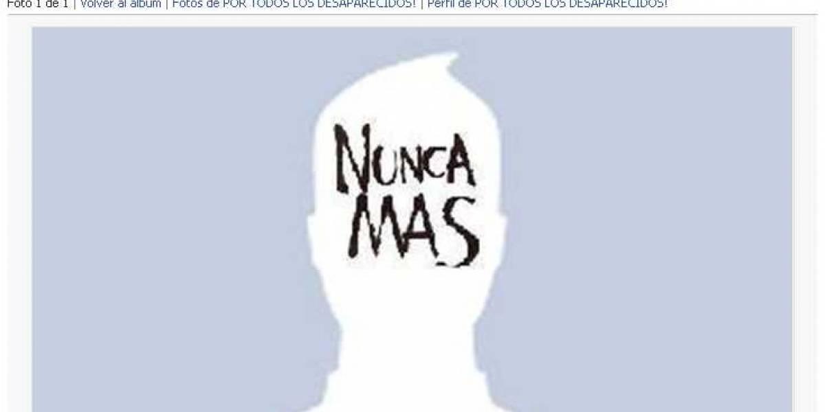Argentina: En Facebook también se recuerda a los desaparecidos por la dictadura