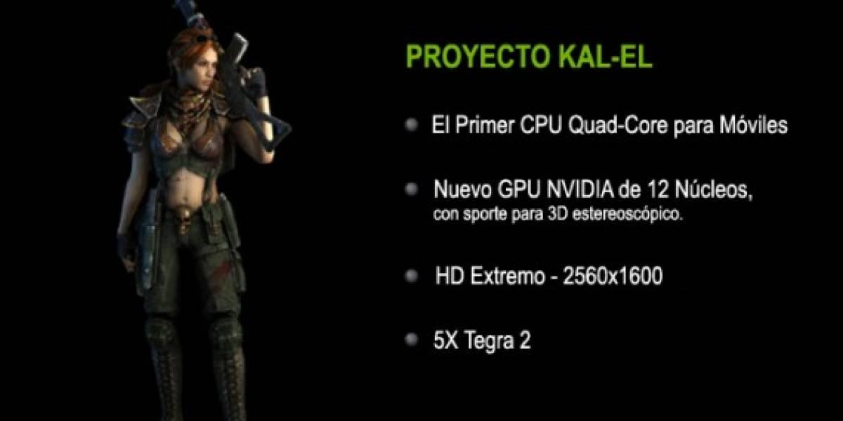 """Nvidia prepara procesadores """"Kal-El"""" y anuncia que vendrán más superamigos"""
