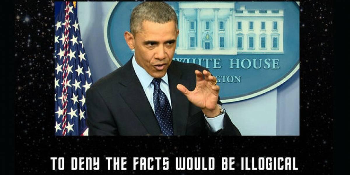 Obama confunde Star Wars con Star Trek y provoca la ira de los fans