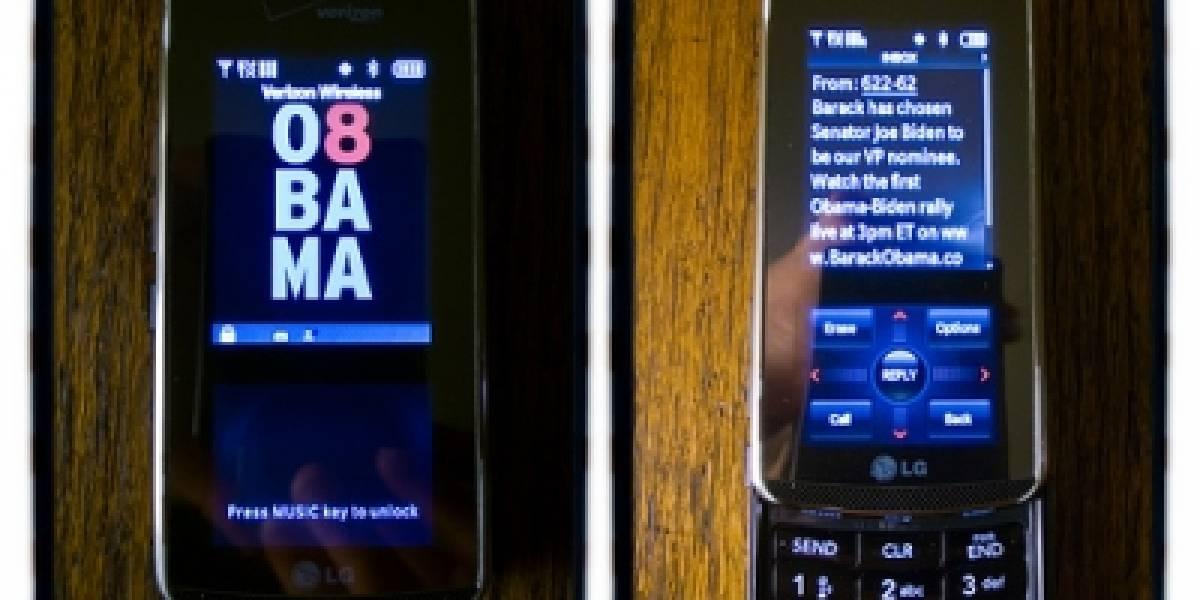 Obama envía 2.9 millones de mensajes en 3 días