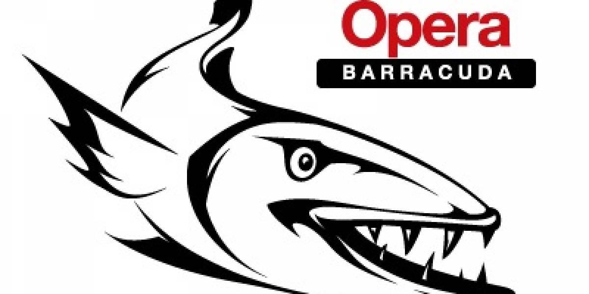 Barracuda es el nombre en clave de la próxima versión del navegador Opera