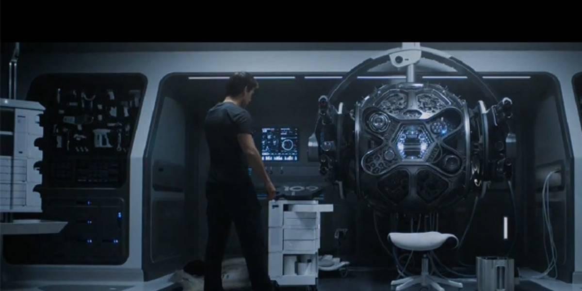 Oblivion: Tom Cruise se enfrenta a Morgan Freeman en un mundo post-apocalíptico