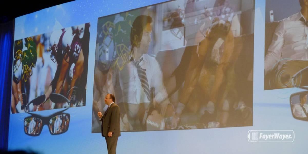 CES 2013: Samsung vuelve a anunciar su TV de 55 pulgadas, ahora con gafas especiales