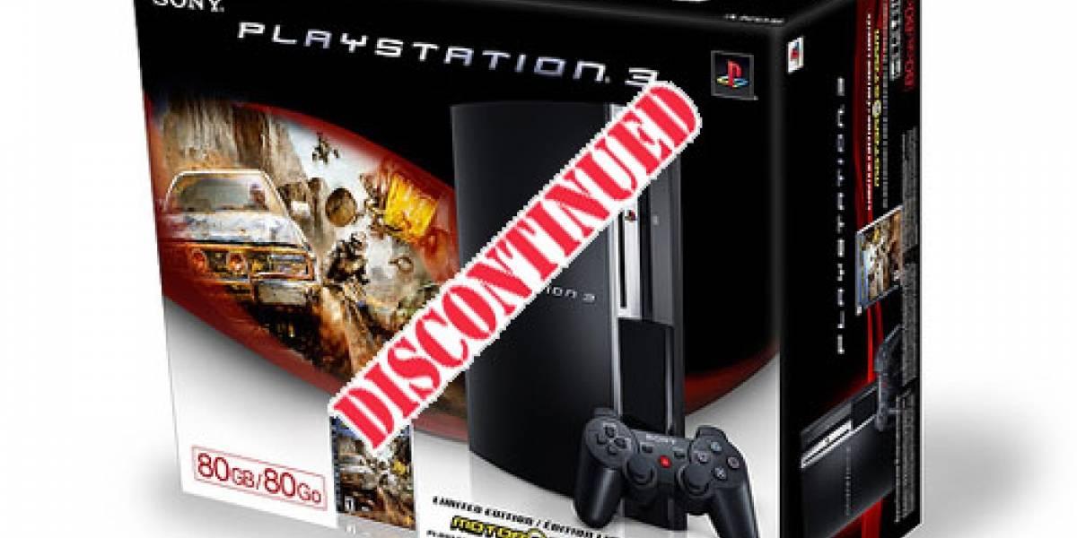 Super Rumor al rescate: PS3 de 80GB descontinuada