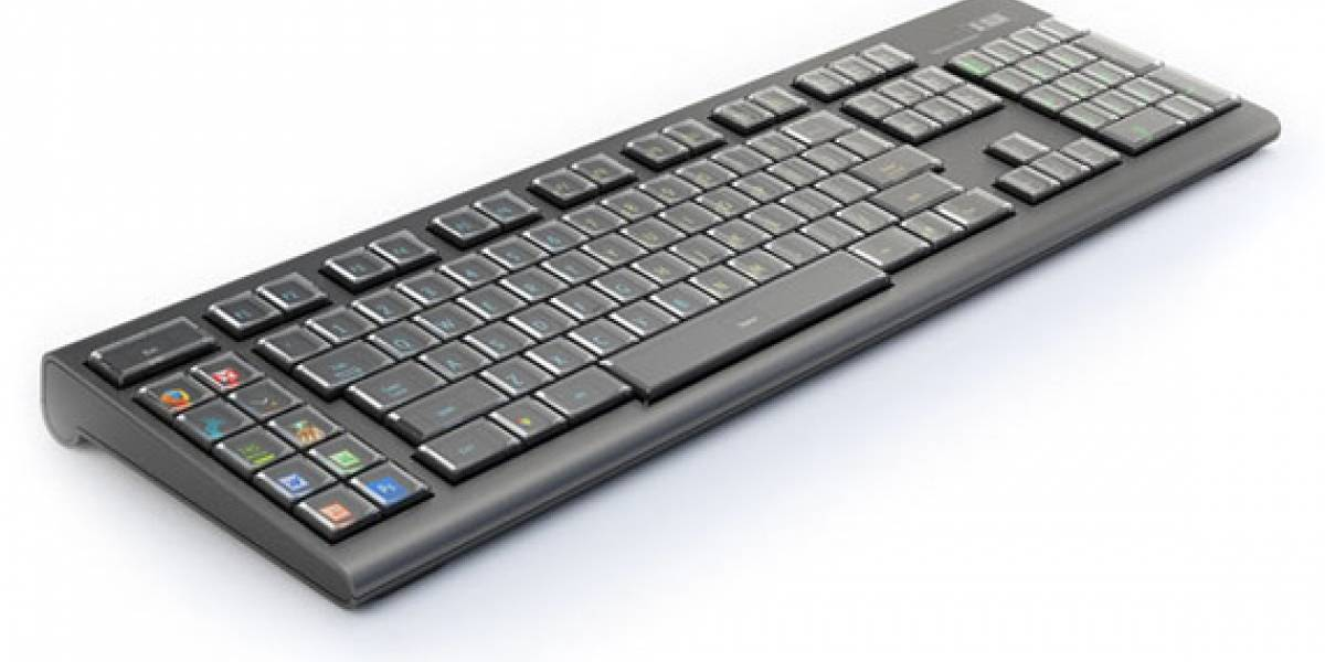 Engadget configura un teclado Optimus Maximus