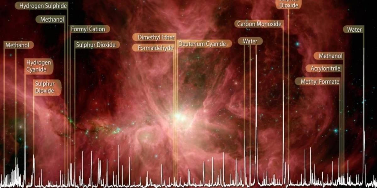 Nebulosa de Orión tiene todos los ingredientes de la vida