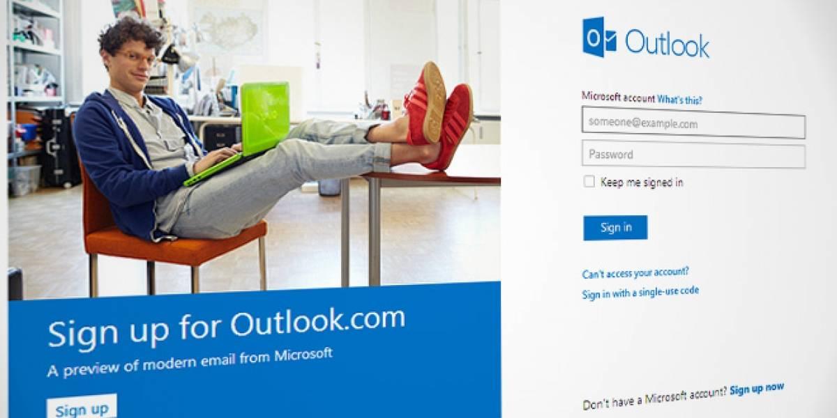 Microsoft olvidó bloquear algunos nombres de usuario de su nuevo webmail Outlook, como Gates y Ballmer